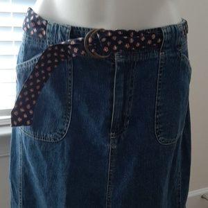 Jean's Skirt EUC
